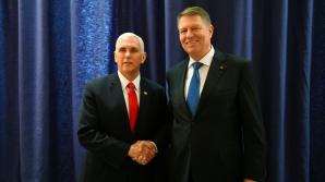 Iohannis, întâlnire cu vicepreședintele SUA / Foto: Administratia Prezidentiala