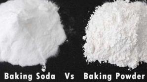 Diferenţa dintre bicarbonat de sodiu şi praf de copt! Puţine gospodine ştiu asta