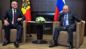Igor Dodon, în vizită la Vladimir Putin