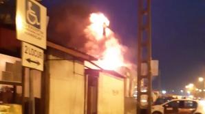 Incendiu la Timișoara
