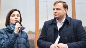 Maia Sandu și Andrei Năstase