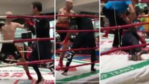 Mircea Badea, knock-out în 5 secunde