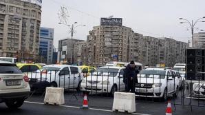 Transportatorii autorizaţi protestează miercuri în faţa Guvernului