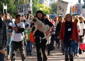 Pușa - proteste Galați