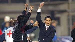 Razvan Lucescu i-a aratat semne obscene si lui George Copos, in 2005