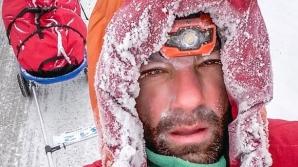Tibi Ușeriu, scos din cursa extremă Yukon Arctic Ultra și dus la spital cu elicopterul