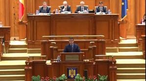 Tomac, în plenul Parlamentului
