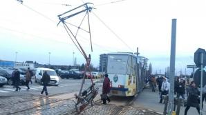 Un tramvai cu probleme la Craiova