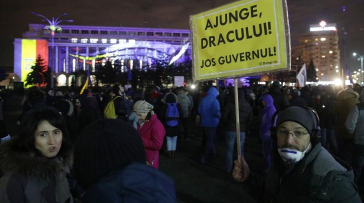 Protest de sustinere a lui Kovesi