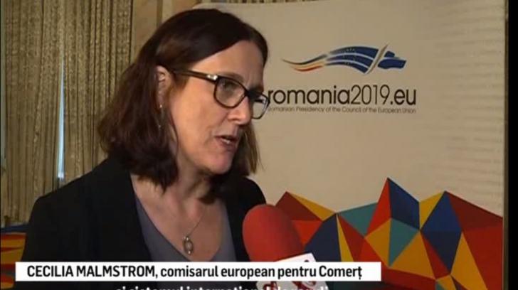 """Comisarul european pentru Comerţ avertizează: """"Ne putem trezi în Vestul Sălbatic"""""""