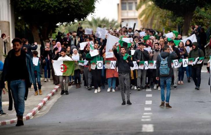 Revoltă în Algeria