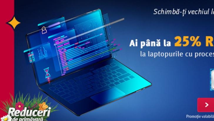 Altex - Oferta de laptopuri din promotia de Primavara!