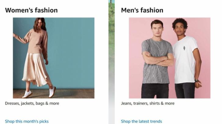 Amazon in Romania - Recomandarea lunii Martie: produsele Fashion