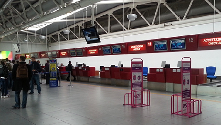 Aeroportul din Ciampino, închis. Mai multe zboruri au fost anulate