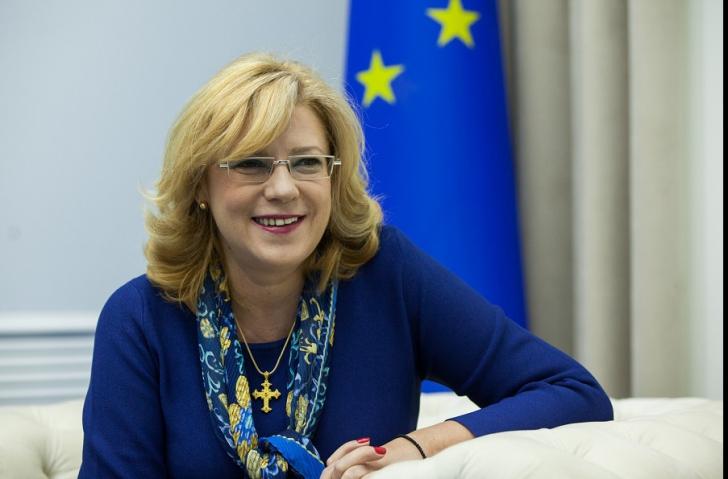 Comisarul european Corina Crețu, întâlnire cu primarii din Țara Făgărașului