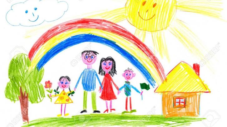 Cum interpretăm desenele copilului?
