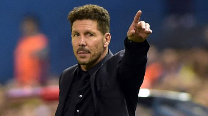 Diego Simeone a şocat o lume întreagă. Şi-a arătat părţile intime după ce Atletico a dat gol cu Juve