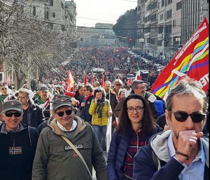 Protest anti-guvernamental la Roma