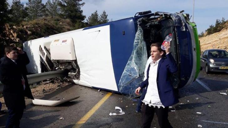 Accident îngrozitor pe autostradă