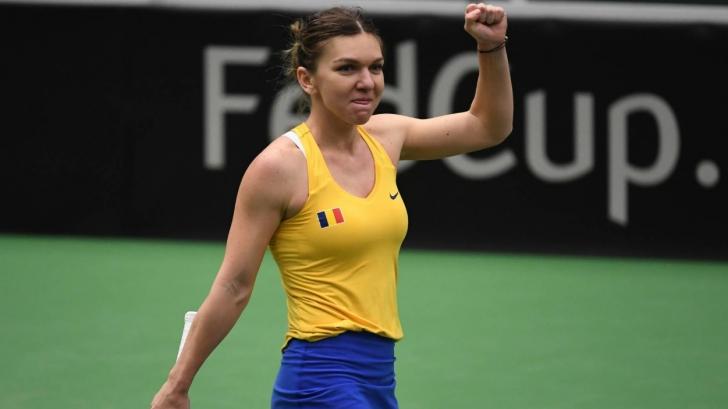 Simona Halep, desemnată cea mai bună jucătoare în Fed Cup