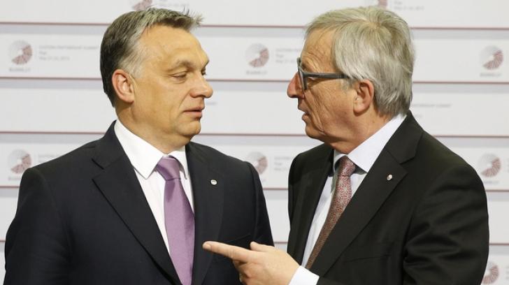 Juncker îl vrea afară pe Viktor Orban din Partidul Popular European