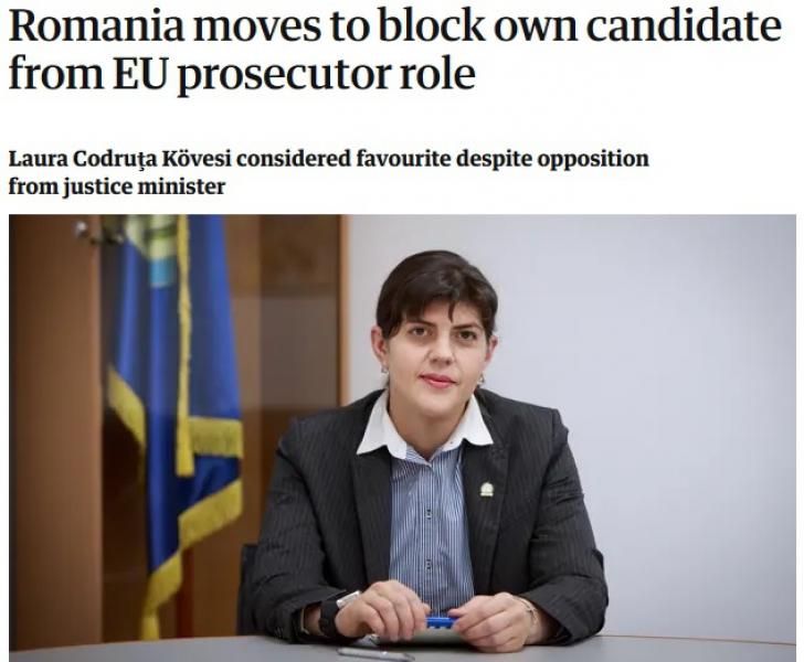 Kovesi, în The Guardian