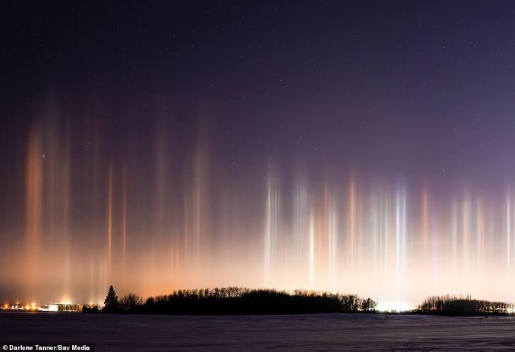 Fenomenul rar observat pe cer. Galerie foto absolut FABULOASĂ