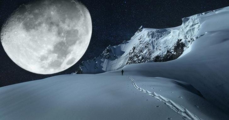 Luna plina 19 februarie 2019