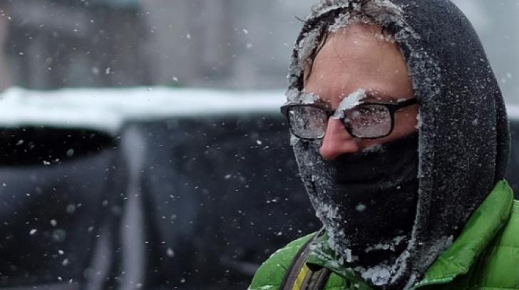 ALERTĂ de vreme EXTREMĂ, în România. Val de aer polar: temperaturile scad și cu 20 de grade!