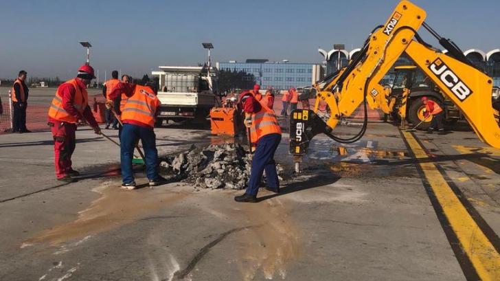 S-a lansat licitaţia pentru refacerea pistei 2 a aeroportului Otopeni