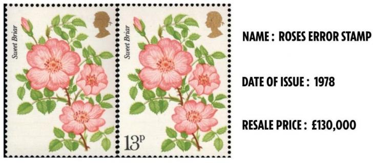 Aceste modele de timbre valorează peste jumătate de milion de euro. Cine le are acasă