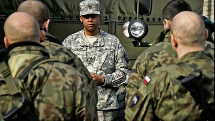 Forțe militare ale SUA vin în România