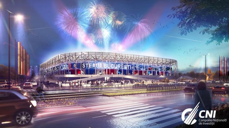 Imagini noi cu stadioanele care se construiesc pentru EURO 2020