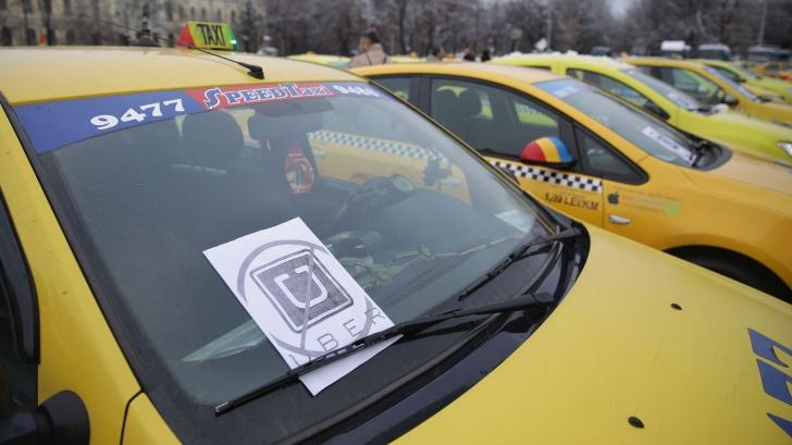 Guvernul cedează în fața taximetriștilor. Va da OUG care elimină aplicațiile de tip taxi