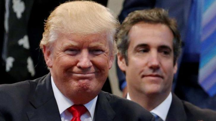 Donald trump, alături de Michael Cohen