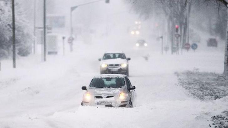 ALERTĂ de vreme EXTREMĂ, în România. Cod portocaliu de ninsori și vânt puternic