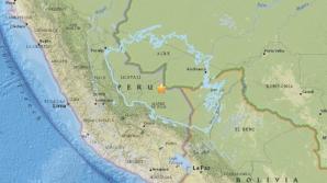 Un seism cu magnitudinea 7,1 s-a produs în Peru