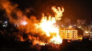 Israelul a bombardat Fâșia Gaza