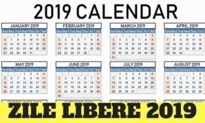 30 aprilie 2019, ZI LIBERĂ. PAȘTE 2019.