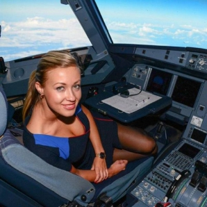 Ținute sexy în avion