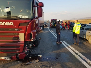 Accident grav în Alba