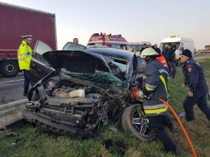 Accident grav în Alba