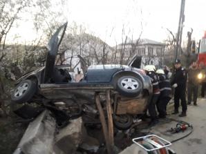 Accident în Vâlcea