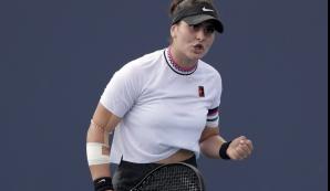 Bianca Andreescu, la un pas de eliminare la Miami