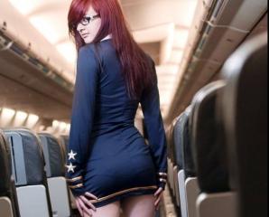 Sex în avion cu pasagerii