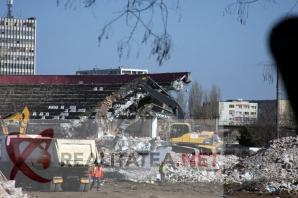 Demolare stadion Rapid. Foto: Cristian Otopeanu
