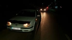 Accident mortal în Dâmboviţa: Un bărbat întins pe carosabil, călcat de două maşini
