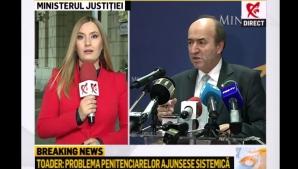 """Tudorel Toader a """"amenințat"""" jurnaliștii. Ionela Arcanu a explicat tot"""