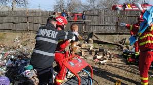 Băiat de 7 ani, salvatorul unui copil de 1 an și 6 luni care a căzut într-o fosă septică