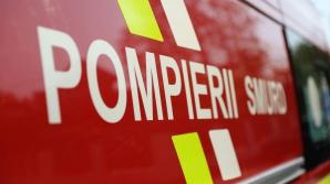 Incendiu într-un apartament din București: o femeie a fost găsită moartă